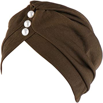 Ssowun Sombrero Turbante Plisado Pañuelo la Cabeza Musulmán Pañuelos Africano Gorros Oncologicos: Amazon.es: Deportes y aire libre