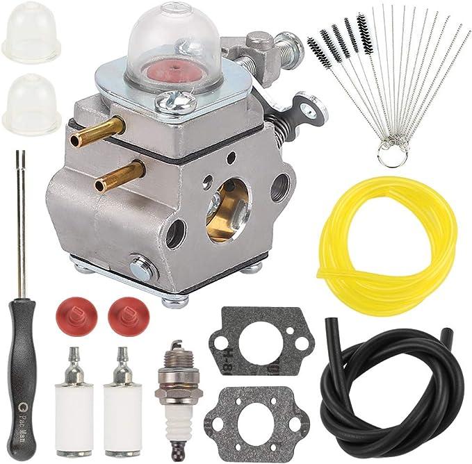 Carburateur Filtre à Air Kit pour MTD 753-06190 M2510 M2500 2-Cycle #walbro WT-973