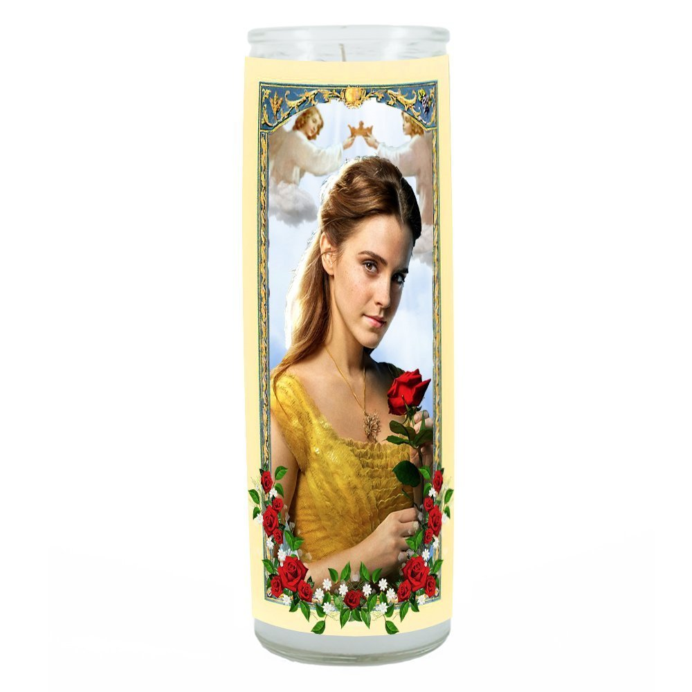 Beauty and the Beast Belle Prayer Candle