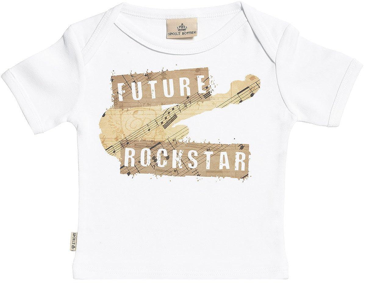 Baby T Shirt in Milk Carton Gift Box Baby Top SR Toddler T-Shirt Future Rockstar Organic Short Sleeve Baby T-Shirt