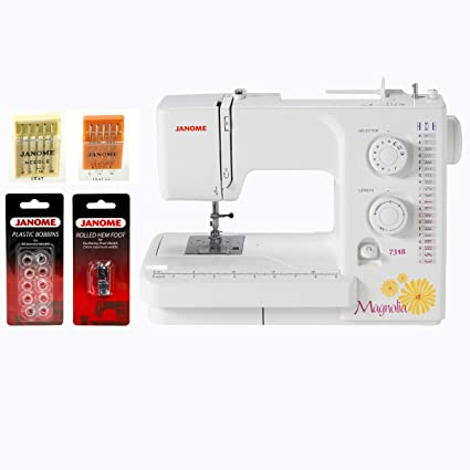 Amazon Janome Magnolia 400 Sewing Machine WFREE 40Piece Cool Magnolia 7318 Sewing Machine