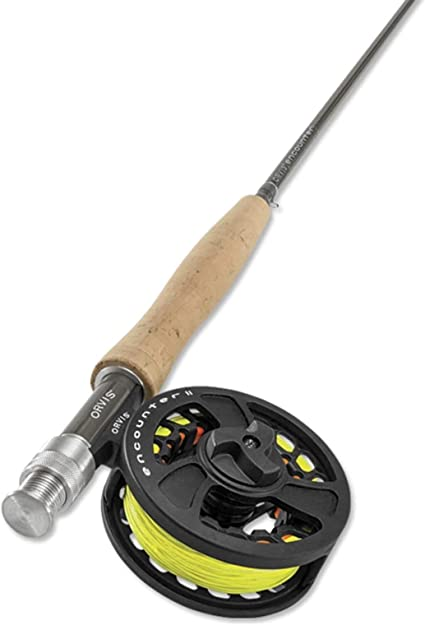 "ORVIS Encounter 908-4 9/'0/"" 8wt Fly Rod Outfit Package ON SALE! NEW"