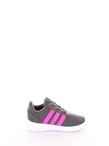0b023460a460 adidas Unisex Kids  Lite Racer Inf Fitness Shoes Grey  Amazon.co.uk ...