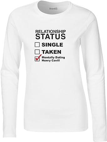 Mentally Dating Henry Cavill, Camiseta de Manga Larga para ...