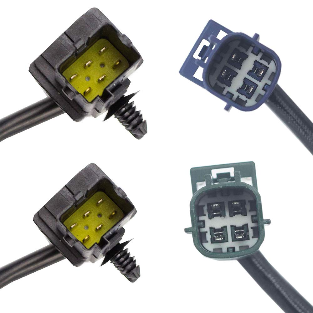 Downstream Guniang Set of 4 Air Fuel Ratio Oxygen O2 sensor for Infiniti FX35 G35 2004-2006 3.5L Infiniti FX45 2006-2008 4.5L Upstream