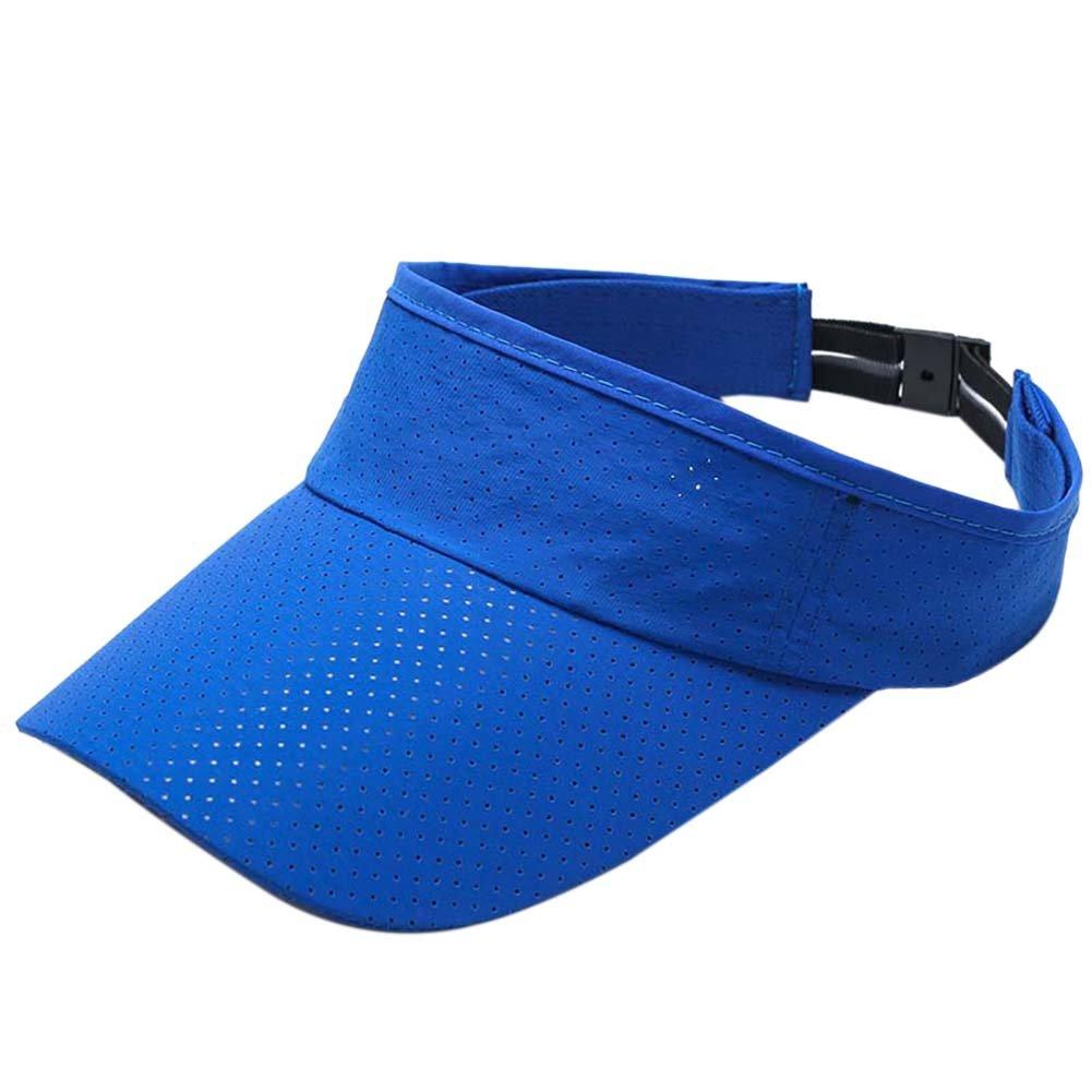 Bornbayb Mens Quick Dry Sport Sun Visor Athletic Mesh Visor Cap Sun Protector with Adjustable Strap