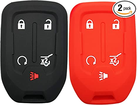 Amazon Com 2pcs Coolbestda Rubber Key Fob Cover Remote Protector