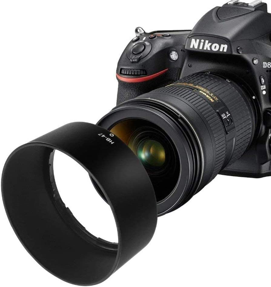 HEGGWEI HB-47 Lens Hood Shade for Nikon AF-S Nikkor 50mm f//1.4G AF-S Nikkor 50mm f//1.8G Lens yangj