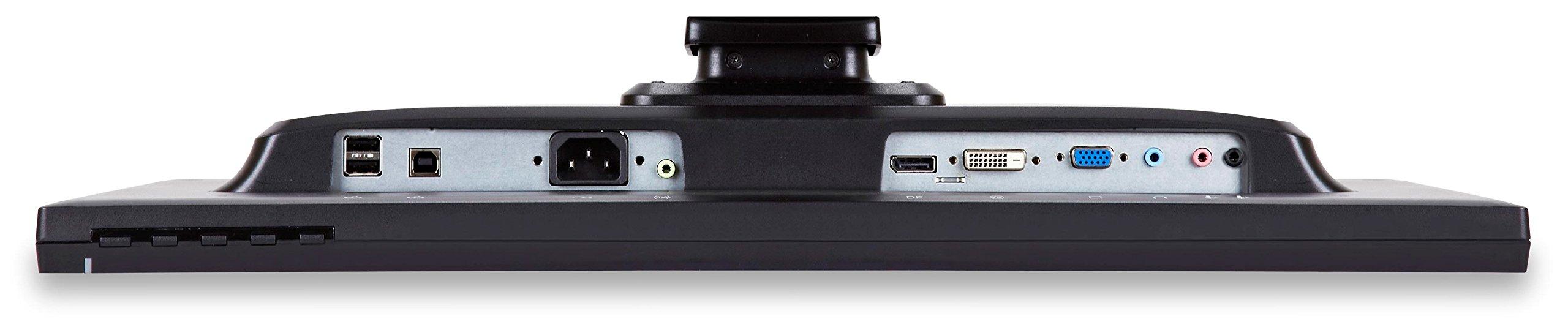 ViewSonic VG2437SMC 24'' 1080p Ergonomic Monitor DisplayPort, DVI, VGA, WebCam by ViewSonic (Image #6)