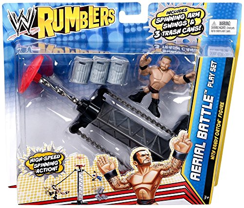 WWE Rumblers Aerial Battle Match Playset and Figure by WWE