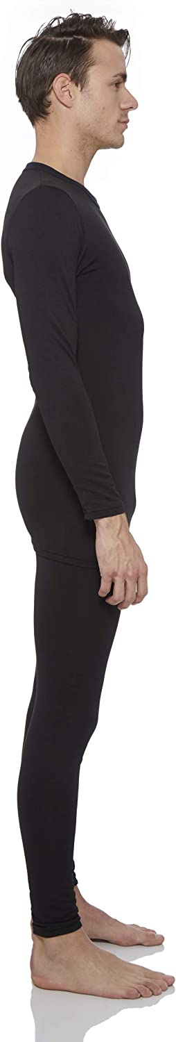 Rocky Thermal Underwear for Men Fleece Lined Thermals Mens Base Layer Long John Set