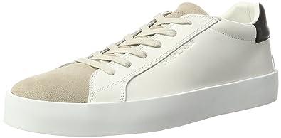 Crime London Dynamite, Sneakers Basses Homme, Blanc (Weiß), 41 EU