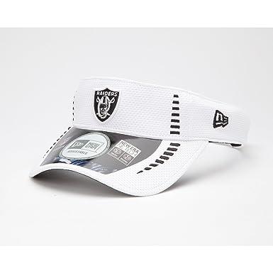 NFL Oakland Raiders Visor New Era NFL cap sun visor (One Size - white) 590911036