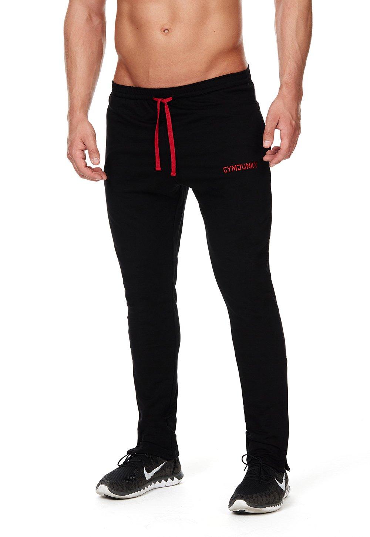 gymjunky Slick Fit Gym Tapered Pantalon d entraînement Fit Pantalon Fitness  longue en jersey coton  Amazon.fr  Sports et Loisirs de1812e9cfce