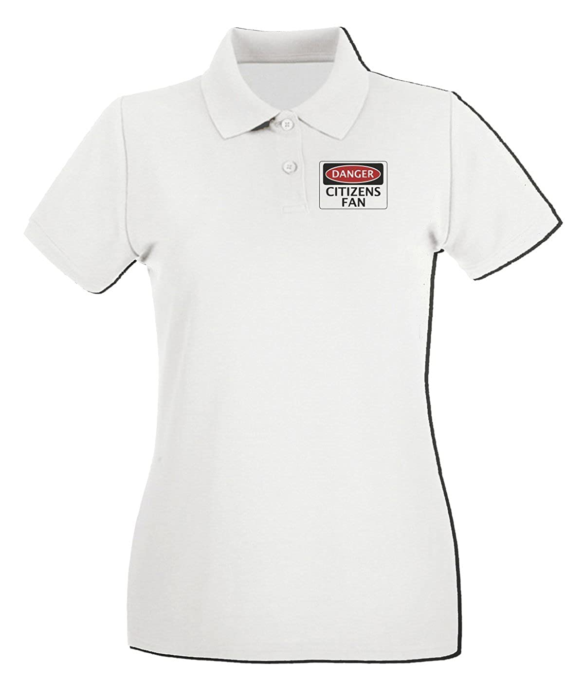 T-Shirtshock - Polo para mujer WC0301 DANGER MANCHESTER CITY ...
