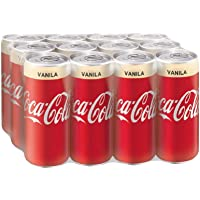 Coca-Cola Vanilla, 320ml (Pack of 12)