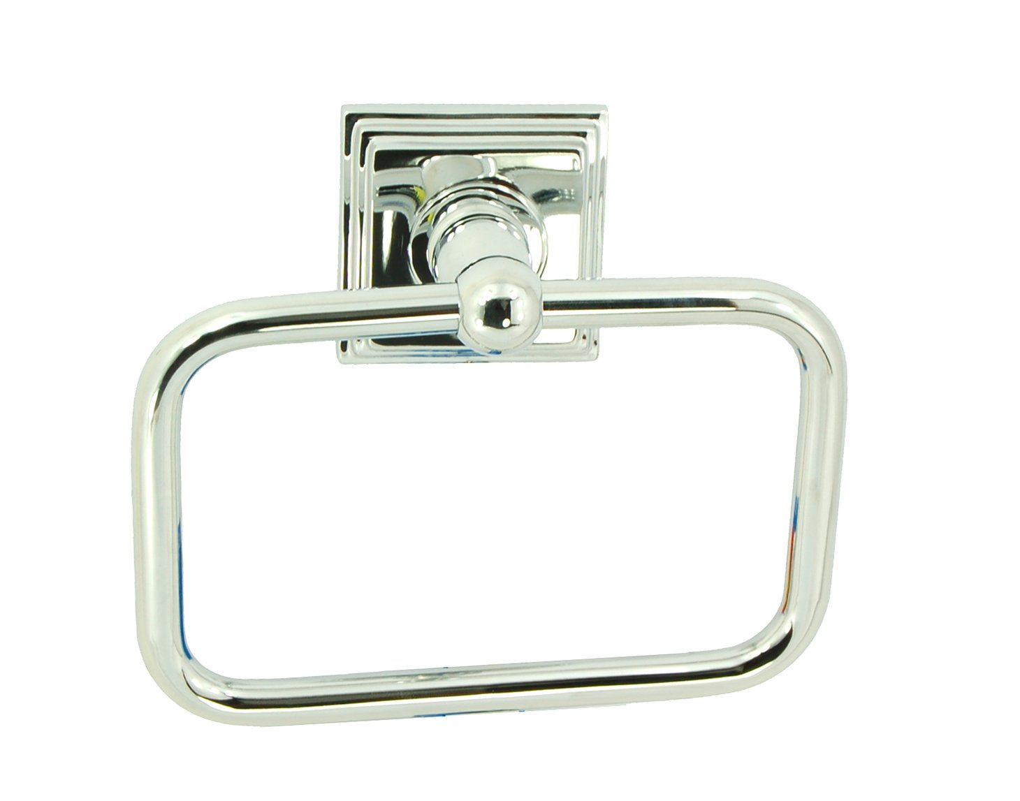 Better Home Products Union Square Towel Ring, Chrome
