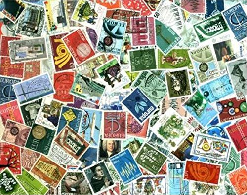 Europa CEPT Stamp Collection - 100 Different Stamps