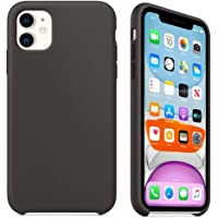 Capa Case Compatível Apple iPhone 11 (6.1 Pol.) Silicone (Aveludado) (Microfibra) Box Lacrada (Black)