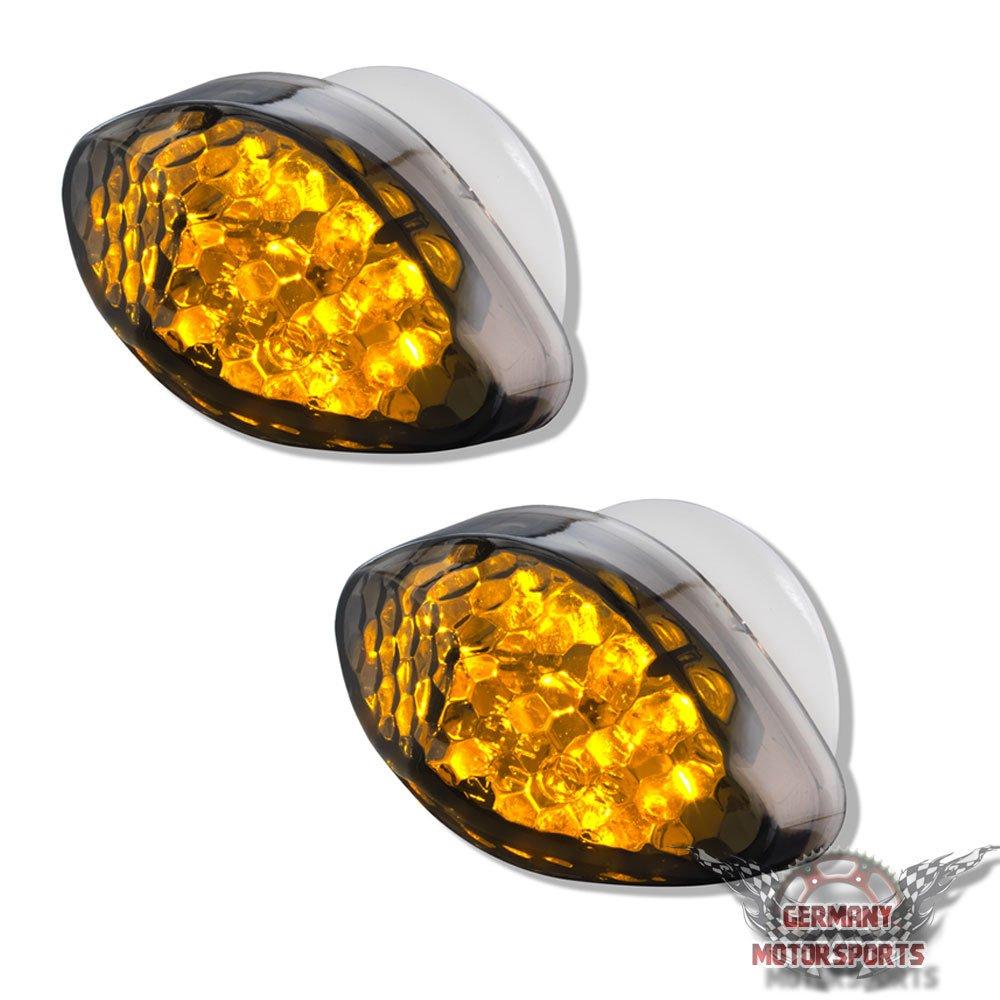 LED VERKLEIDUNGSBLINKER CBR 1000 RR SC57 FIREBLADE 04 05 06 07 SCHWARZ GET/ÖNT VERKLEIDUNGS BLINKER