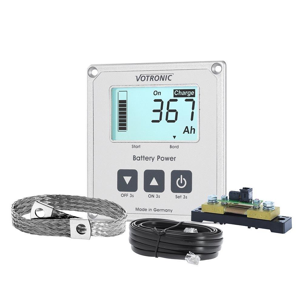 Votronic 1266 LCD-Batterie-Computer 200 S Smart-Shunt und Masseband