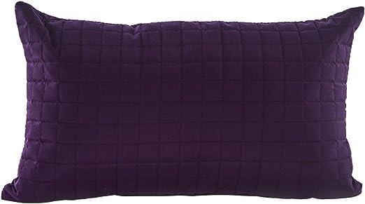 Gouchee Home Grid Long Cushion 12 x 20 Lime