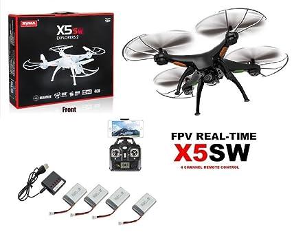 Doodlbuzz Drone SYMA X5SW FPV HEADLESS cámara de alta definición ...