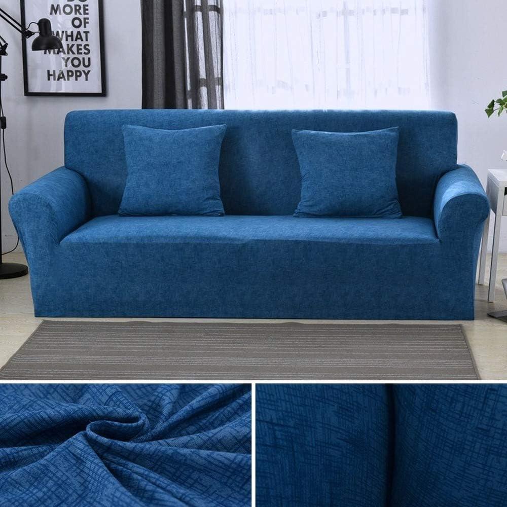 Color 1,1-Seat 90-140cm RONGER Housse De Canap/é Extensible Sectionnelle /élastique pour Canap/é De Salon Housse De Canap/é en Forme De L Housse De Fauteuil Simple//Deux//Trois Places