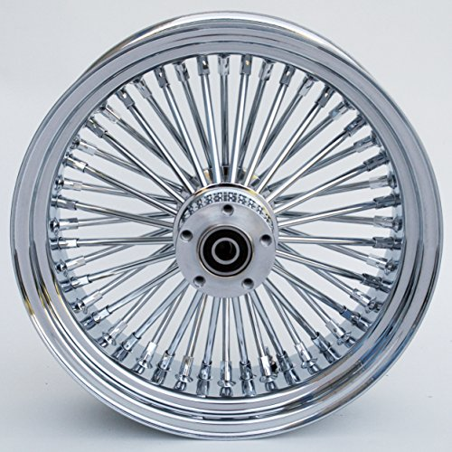 Ultima King Spoke Chrome 16x5.5 Rear Wheel for 2000 06 Harley Models (37 531) by Ultima