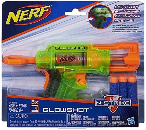 Nerf Lanzadardos Glowshot Elite Hasbro B4615EU4