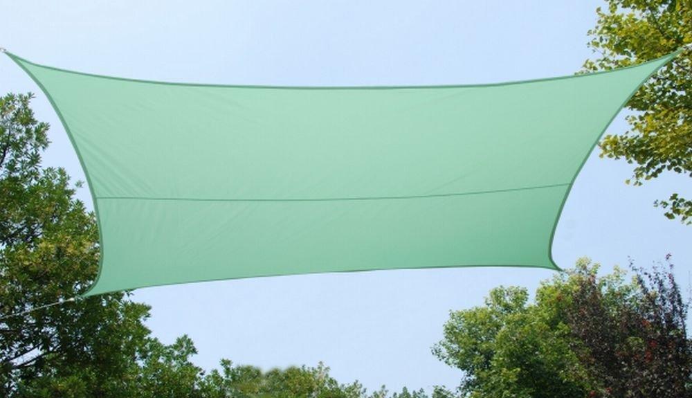 クッカバラ日除けシェードセイル ミントカラー 3m正三角 紫外線98%カット防水タイプ OL4011SST B07BR8SBT2 21350 正三角形: 3 x 3m  正三角形: 3 x 3m