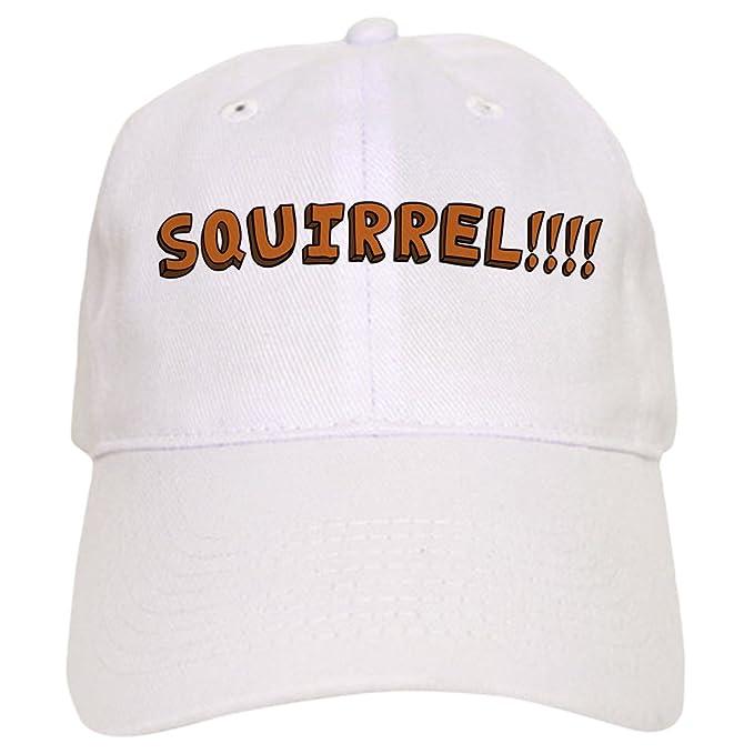 74cea02211e45 Amazon.com  CafePress - Squirrel!!!! - Baseball Cap with Adjustable  Closure