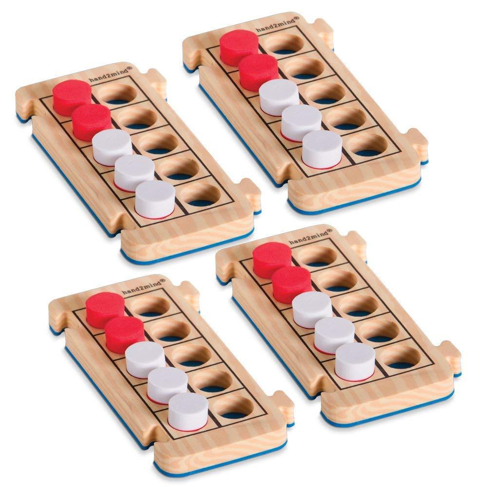 hand2mind RekenRods Ten-Frames, Set of 4