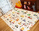 BABYLYNN Baby Play mat,Kids Play mat,Infant Play mat,Foam mat,Floor mat,Play mat Non Toxic,Play mat Waterproof,Large Play mat,Creeping mat,playpen mat,Activity mat (XL, Car Car) (Car Car, XL)