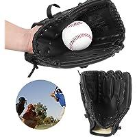 Pbzydu Zwarte Verdikte Handschoen, Honkbal Handschoen, Kinderen Tiener Volwassen voor Honkbal Spelen Training softbal…