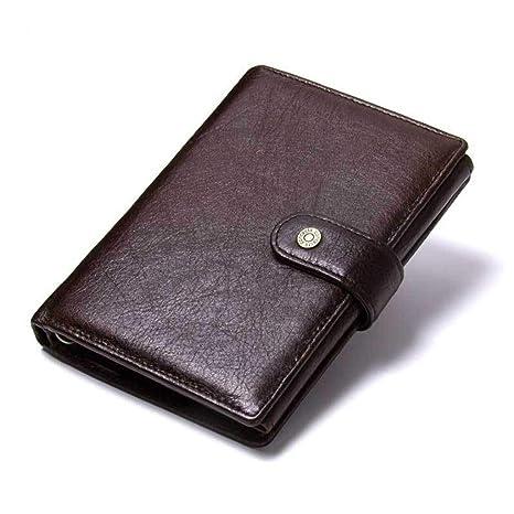 Y-LJ Bag Monederos Hombre pequeño Billetera para Pasaporte ...