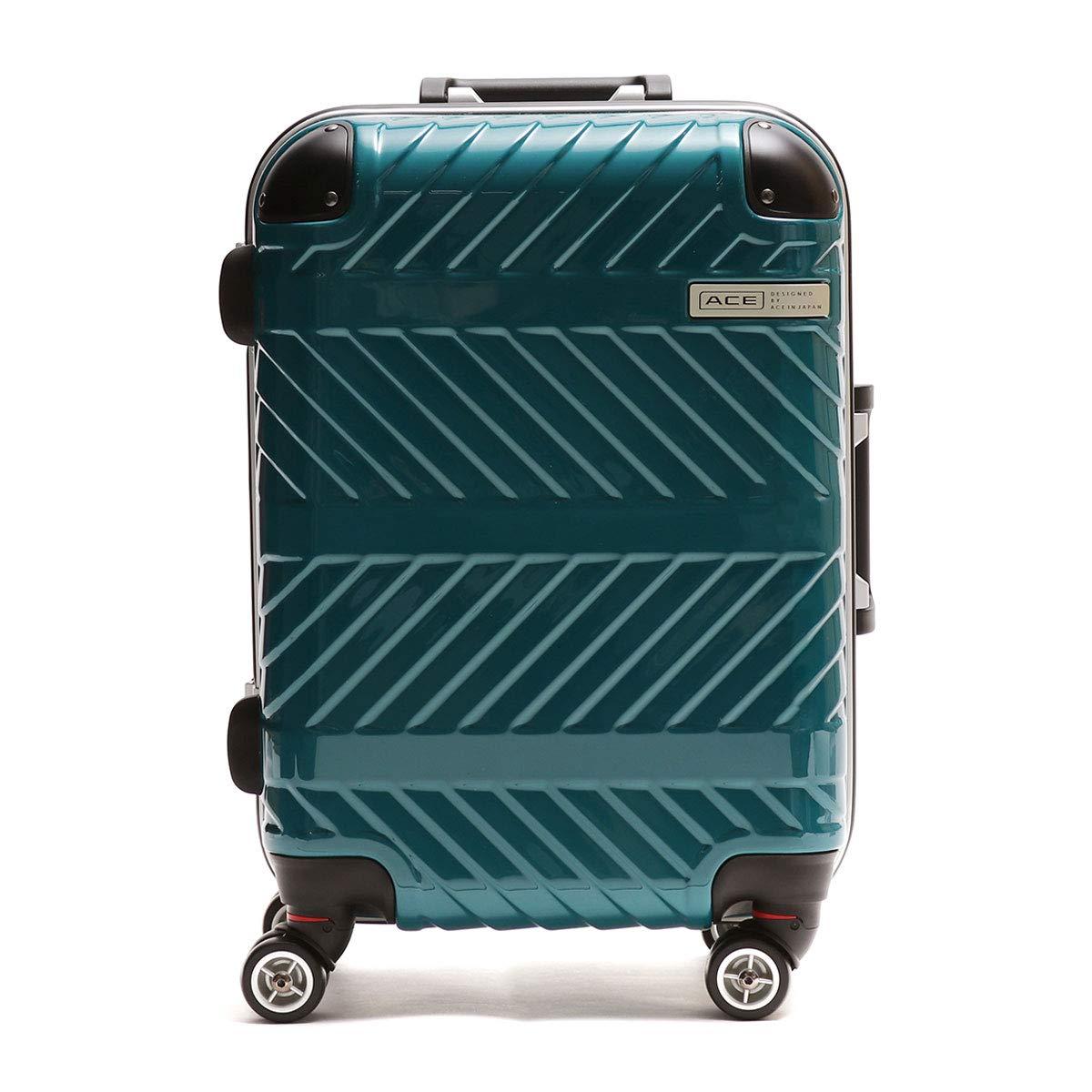 [エース デザインド バイ エース イン ジャパン]ACE DESIGNED BY ACE IN JAPAN パラヴァイド スーツケース 31L 06296  グリーン(04) B07Q1F144X