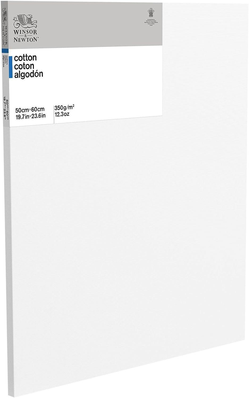50/x 60/x 45/cm Cotton Winsor /& Newton 6201073/Stretched Canvas White