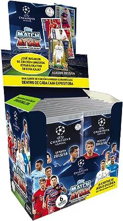 Devir Topps - Caja de Sobres de Cartas Champions League 2015/2016 ...