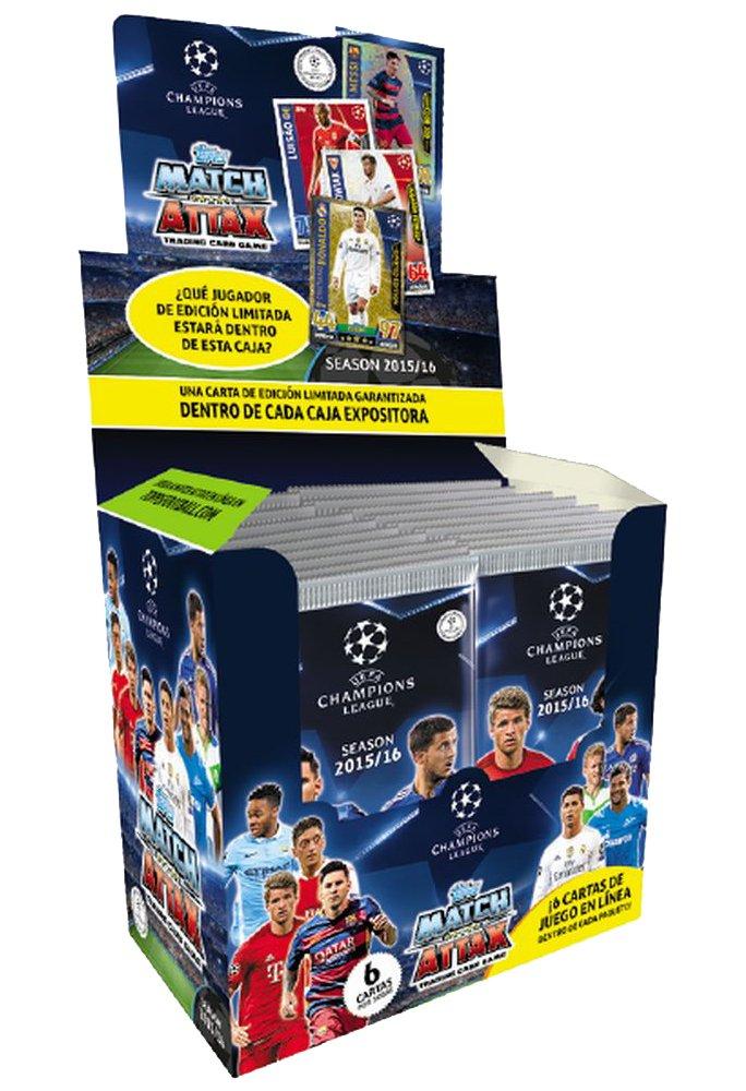 Devir Topps - Caja de Sobres de Cartas Champions League 2015 ...