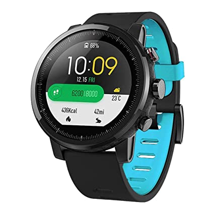 Zolimx Deporte Suave Silicona Correa de Reemplazo Pulsera Relojes Inteligente para Xiaomi Huami Amazfit Stratos 2
