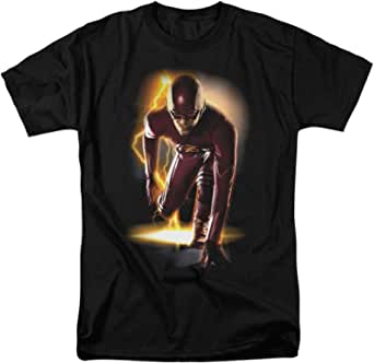 Popfunk The Flash in Action Lightning T Shirt
