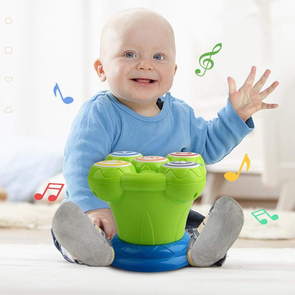 Musik Pat Drum Early Education Puzzle Baby Krabbeltier Multifunktionale Baby Kunststoff Tamburin Kinder Musik