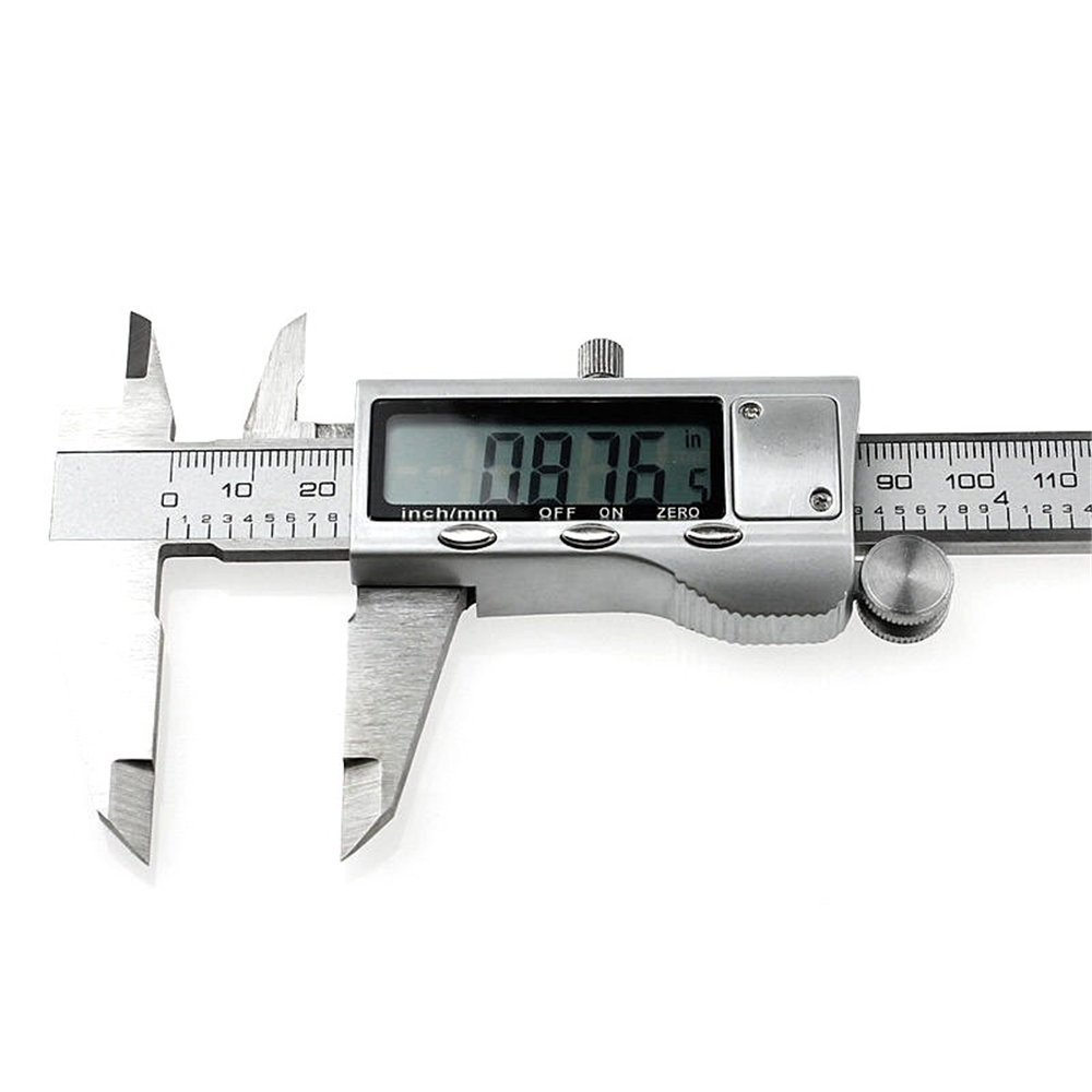 High Quality 150mm//6-inch hardened Stainless Steel Electronic Digital Vernier Caliper Micrometer With Box