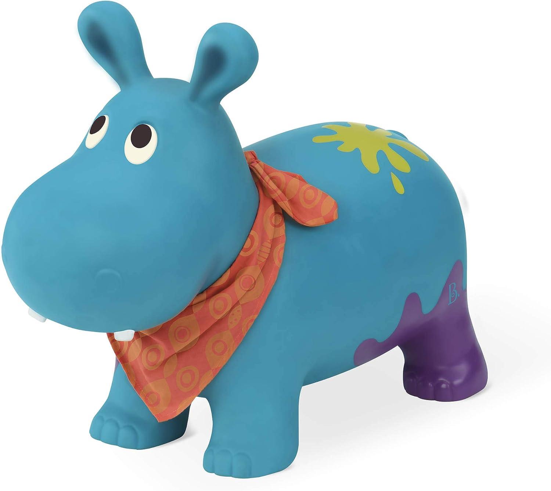 Amazon.com: Hanky The Hippo hinchable Ride-On Bouncer ...