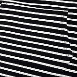 XOWRTE Women's Sweatshirt V-Neck Tunic Stripe