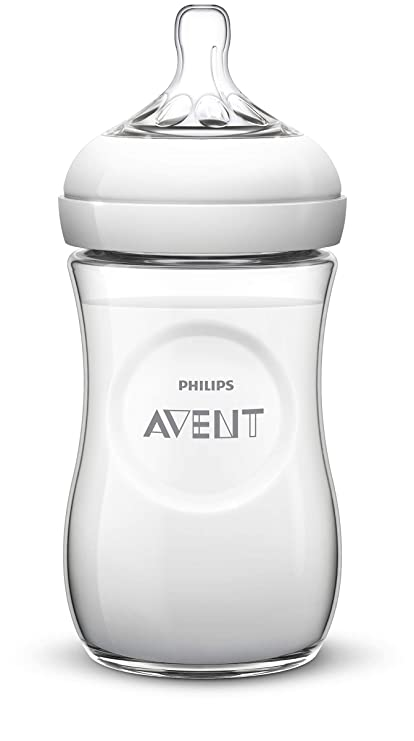 Philips Avent SCD287/24 - Set de regalo natural dragon, 1 biberón, 2 chupetes, 1 clip
