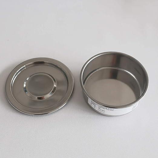 Tansoole Setacci per Laboratorio in Acciaio Inossidabile /φ10/×4.5cm 5 maglie(5mm)||/φ10/×4.5cm 5 maglie(5mm)