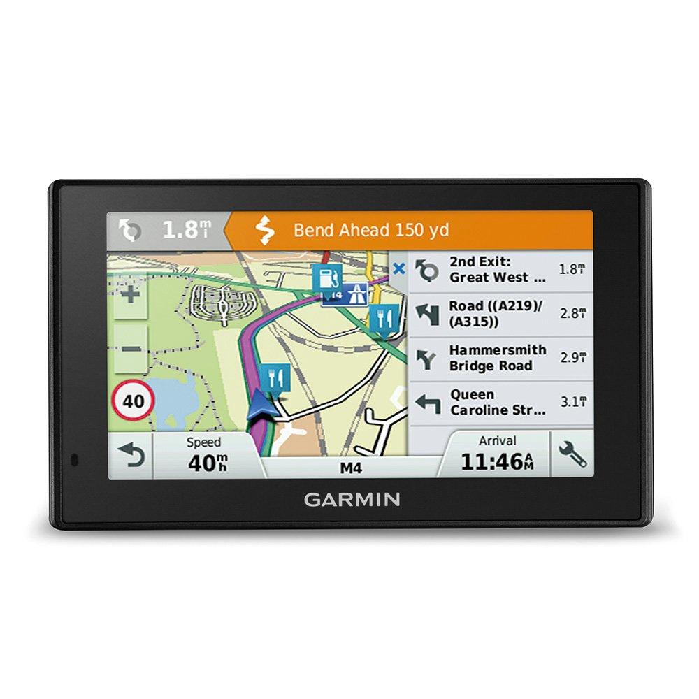 Garmin Driv eassist 51LMT S UE GPS–5pouces (12,7cm) Multi Touch écran en verre, à vie Carte mises à jour & Transport Infos, kameragestützte conducteurs hinweis