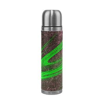 Amazon.com: hulahula Universo botella de agua térmica de ...